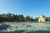 Lakeside Stupa  Bago  Myanmar (Burma)  Asia