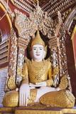 Buddha Statue  Thanboddhay Paya Temple  Monywa  Myanmar (Burma)  Asia