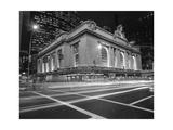 Grand Central Station  NY at Night - NY City Landmarks at Night
