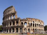 Colosseum  Rome  Lazio  Italy  Europe
