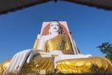 Gautama Buddha  Four Faces Paya  Kyaik Pun Paya  Bago  Myanmar (Burma)  Asia