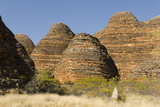 Sandstone Hills in the Domes Area of Purnululu National Park (Bungle Bungle)