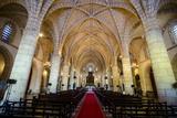 Interior of the Cathedral Primada De America  Old Town  Santo Domingo