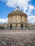 Radcliffe Camera  Oxford University  Oxfordshire  England  United Kingdom  Europe