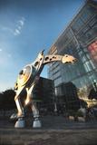 Kniefall  Animated Sculpture with Heidelberger Druckmaschinen Ag  Heidelberg