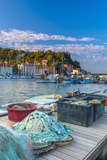 Fishing Nets  Old Town Harbour  Piran  Primorska  Slovenian Istria  Slovenia  Europe
