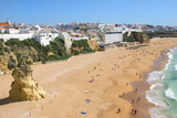 Fisherman Beach  Albufeira  Algarve  Portugal  Europe