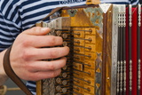 Accordion  Ethnic Group of Musicians  River Emajogi  Tartu  Estonia  Baltic States  Europe