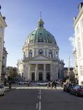 Amalienborg Marmorkirken (Marble Church) (Frederik's Church)  Copenhagen  Denmark