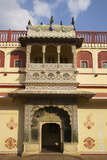 Peacock Gate  Pitam Niwas Chowk  City Palace  Jaipur  Rajasthan  India  Asia