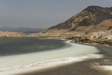Lake Assal  151M Below Sea Level  Djibouti  Africa