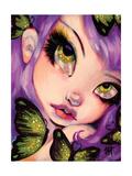 Green Eyed Violet