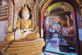 Buddha Statues  Thanboddhay Paya Temple  Monywa  Myanmar (Burma)  Asia
