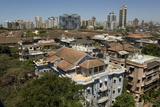 Roof-Tops and High-Rises of Colaba  Mumbai  India  Asia