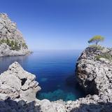 Bay Cala De Sa Calobra  Majorca (Mallorca)  Balearic Islands (Islas Baleares)