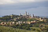 Skyline of Medieval Towers  San Gimignano  Siena  Tuscany  Italy  Europe