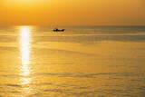 Sunrise in Kagoshima Bay  Kagoshima  Kyushu  Japan  Asia