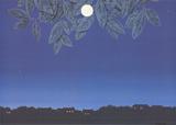 La Page Blanche Reproduction d'art par Rene Magritte