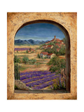 Lavender Fields and Village of Provence
