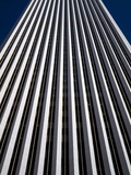 Low Angle View of the Aon Center  Chicago Loop  Chicago  Cook County  Illinois  USA