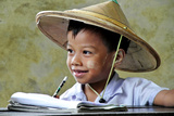 Child from Myanmar Sponsored by the NGO Children of The Mekong