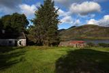 Old Desarted Farm Near Drishaghaun on the Banks of Lough Mask  Joyce's County  Connemara
