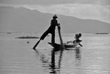 Fishermen on Lake Inle (Myanmar)