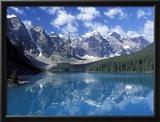 Moraine Lake in the Valley of Ten Peaks  Canada
