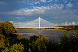 Cable-Stayed Bridge over the River Suir Waterford Bypass  County Waterford  Ireland