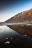 Reflection of Rock on Water  Western Hemisphere  Badwater Basin  Death Valley National Park