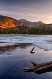 Morning Light on Whiteface Mountain and Spring Thaw on Copperas Pond  Adirondack Park
