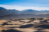 Sand Dunes in a Desert  Mesquite Flat Sand Dunes  Death Valley National Park  Inyo County