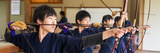 Archery Students Practicing at Japanese Archery Club  Singapore