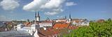 Buildings in a City  St Olaf's Church  Toompea Hill  Tallinn  Estonia