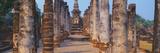 Ruins of a Temple  Sukhothai Historical Park  Sukhothai  Thailand