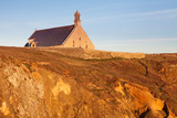 Chapel on a Cliff  Chapelle Saint-They  Pointe Du Van  Cleden Cape Sizun  Finistere  Brittany