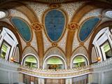 Interior Detail of Tiffany Dome  Marshall Field and Company Building  Chicago  Illinois  USA