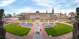 Zwinger Palace Designed by Matthaus Daniel Poppelmann  Dresden  Saxony  Germany