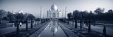 Reflection of a Mausoleum on Water  Taj Mahal  Agra  Uttar Pradesh  India
