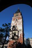 Wieza Ratuszowa  the 13th Century Town Hall Tower  Rynek Glowny the Main Market Square  Krakow