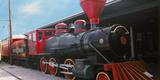 Locomotive at the Chattanooga Choo Choo  Chattanooga  Tennessee  USA