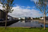 Enclosed Dock Off the Corrib River Near Claddagh Qauy  Galway City  Ireland