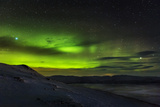 Aurora Borealis or Northern Lights Seen from the Abisko Sky Station  Abisko  Lapland  Sweden