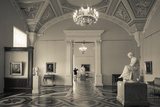 Interior of the State Hermitage Museum  St Petersburg  Russia
