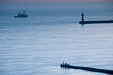 Pier Fishing  Lighthouse Beach  Sochi  Black Sea Coast  Krasnodar Krai  Russia