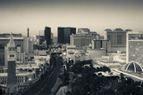 High Angle View of a City  Las Vegas Boulevard  Las Vegas Strip  Las Vegas  Nevada  USA