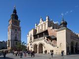 Sukiennice  the Renaisssance Cloth Hall and Wieza Ratuszowa  the 13th Century Town Hall Tower
