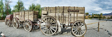 Wagons Loaded with Borax  Death Valley  Death Valley National Park  California  USA