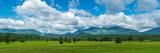 High Peaks Area of the Adirondack Mountains  Adirondack State Park  New York State  USA