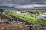 Mid Atlantic Ridge  Thingvellir National Park  Iceland